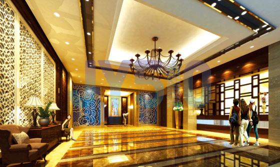 总部壹号酒店公寓入口