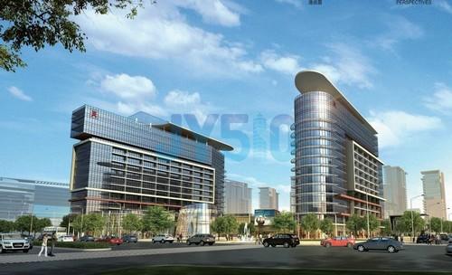 集超甲级现代写字楼,独栋企业家总部楼,高档住宅,商业服务等多重业态