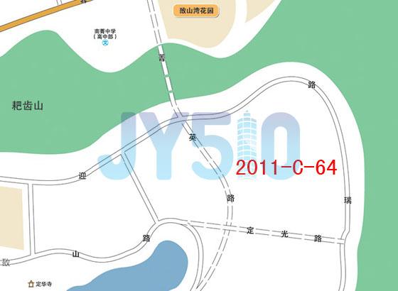 敔山湾2011-c-64地块位置