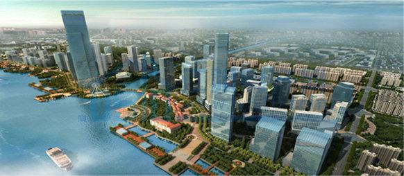 城建规划 正文       2012年,江阴吹响建设现代化滨江花园城市的号角