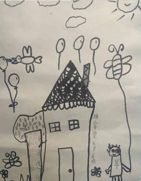儿童画 简笔画 手绘 线稿 460_589 竖版 竖屏