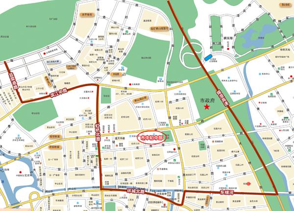 慈溪横河镇地图