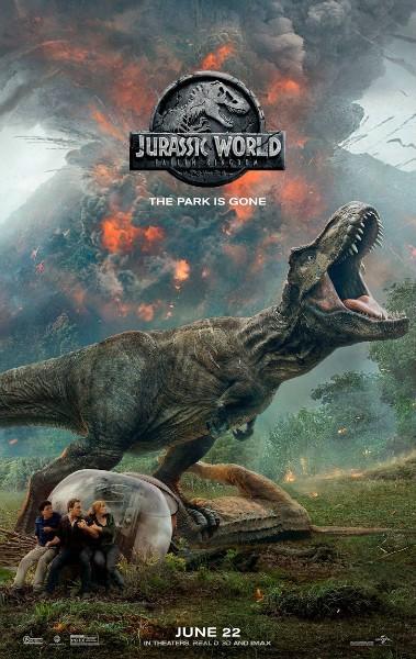 (《侏罗纪世界2》电影海报)