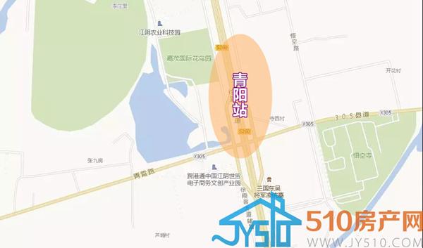 江阴青阳镇地图
