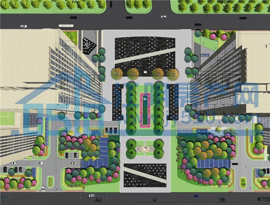 绿化规划图