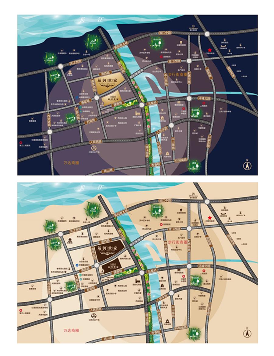 项目区位图
