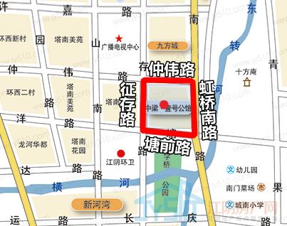 中梁·壹号公馆区位图