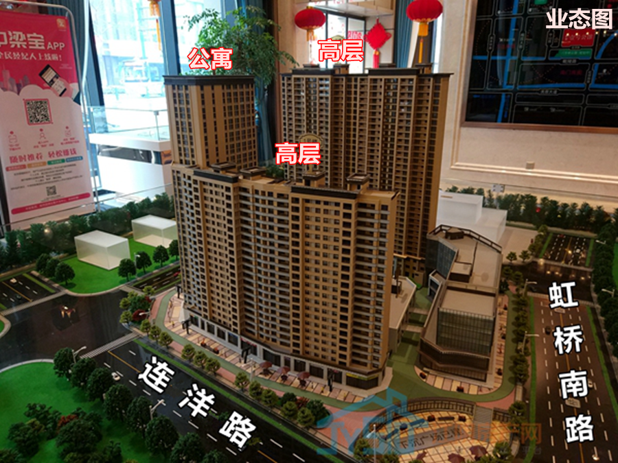 中梁·壹号公馆鸟瞰图