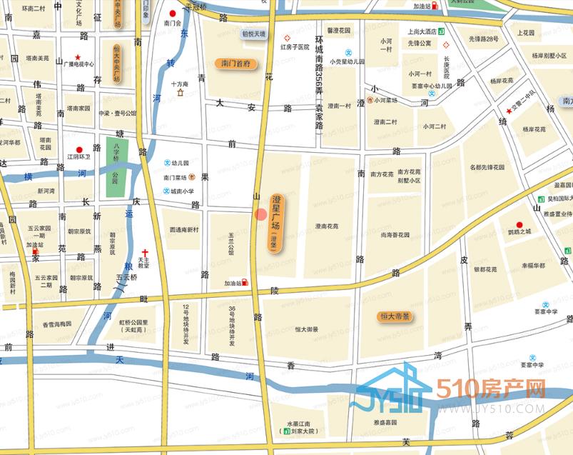澄堡位置图